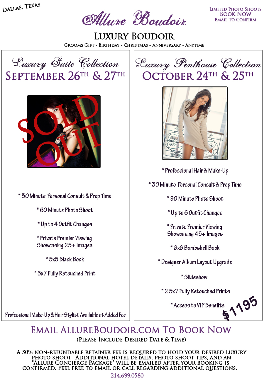 dallas boudoir photography MARATHON